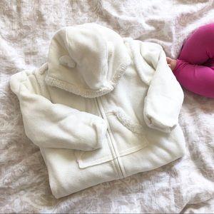 Baby Gap Bear Fleece Winter Suit